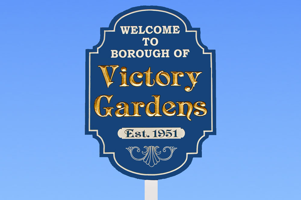 Welcome Sign | Victory Gardens